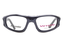 Leader Sport Safety Glasses C2 Navy 52