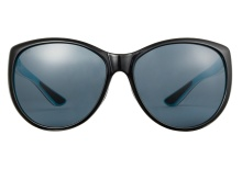 Costa LM87 OGP La Mar Shiny Black Aqua Grey 580 Polarized