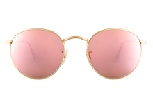 Ray-Ban 3447 112 Z2 Gold Mirror 50