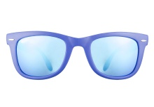 Ray-Ban RB4105 6020 17 Matte Blue Mirror 50