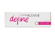 1 Day Acuvue Define Natural Shimmer 30 Pack